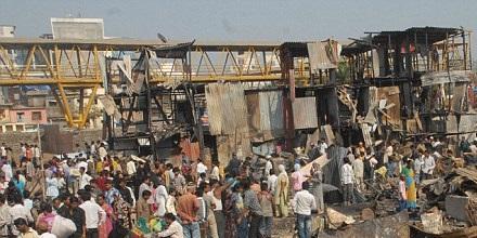 فضای خواب- تا حدی شبیه این تصویر از شهر مومبایی هند