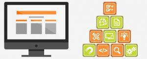 ماژولهای تشکیل دهنده وب سایت